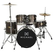Bateria Michael 22 Dm843 Chr Na Cheiro De Música Loja !!
