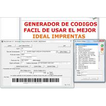 Programa Generador De Códigos De Barra - Afip Rg 1702