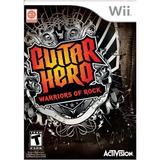 Guitar Hero Warriors Of Rock Wii Nuevo Blakhelmet Sp