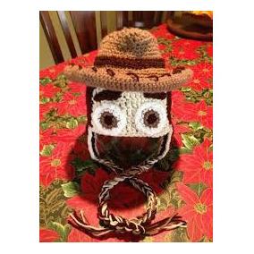 Gorros Tejidos A Crochet Para Niños Toy Story Jessy Y Woody