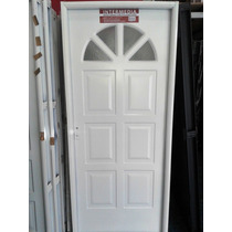 Oferta! Aberturas Puerta Nexo Inyectada Sol Con Vidrio 80x2