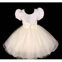 Vestido Infantil Festa/ Dama/florista/casamento Tafetá