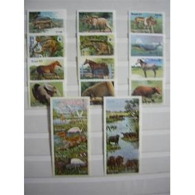 Rb2110 - Selos Mint Novos Fauna Mamíferos Séries Completas