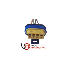 Soquete Plug Conector Motor Passo: Gol, Voyage, Parati,logus