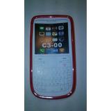 Cover Protector Tpu Silicona Nokia C3 Liquidacion