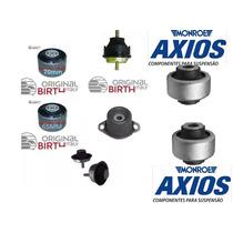Kit Completo Calço Coxins Motor Câmbio + Bucha Axios 206 207