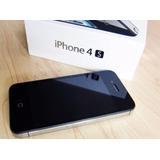Iphone 4s A1387 Usado Desbloqueado Perfeito Estad 16gb Preto