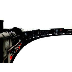 Tren Eléctrico 4 Vagones Rail King Oferta Juego Envio Gratis