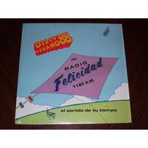 Disco Verano 88 Radio Felicidad Lp Veronica Castro Magneto