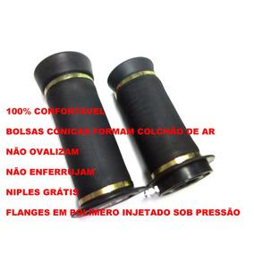 Bolsa Cônica Suspensão A Ar + Niple 8mm Prensagem Americana