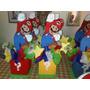 Centro De Mesa Infantil De Mario Bross