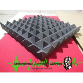 Espuma Acústica Piramidal Para Estudios Cabinas Elimine Eco