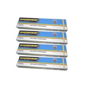 Kit 4 Fitas Nylon Impressora Matricial Epson Lx 300 Lx 810