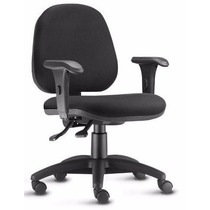 Cadeira Escritório Lyon Gerente Ergonomica Braços Wfs Móveis