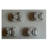Molde Chocolate Pvc - Urso Caixa Presente 4 Cav