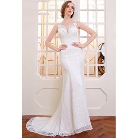 Vestido Novia Nuevo Tallas 8 10 14 Delpilar Np 01