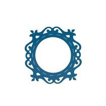 Cuadro Marco Azul Circo Decora Interior Valchro Envio Gratis