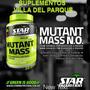 Mutant Mass N.o. 1,5kg Ganador De Peso Proteína Envíos Bsn