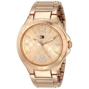 Relógio Tommy Hilfiger Feminino Dourado 12 X Sem Juros