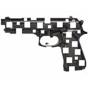 Pistola De Balines De Metal