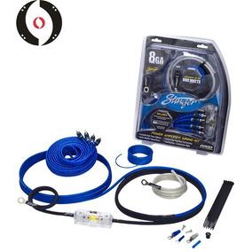 Kit Instalacion Stinger Calibre 8 Serie 6000 Cable Cobre Cer