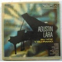 Agustin Lara / Su Voz Y Su Piano 1 Disco Lp Vinilo