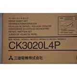 Papel Termal Mitsubishi Ck3020l4p Para Impresora Cp3020w-s