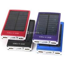 Bateria Externa Solar 30000mah 30000 Mah Doble Power Bank