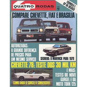 4r.215 Jun78- Chevette Fiat147 Tork Brasilia Maverick Bianco