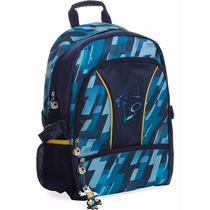 Mochila Escolar Costas Tigor T. Tigre Azul - Original