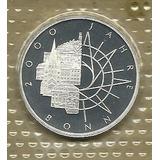 Conmemorativa 2: 10 Mark Alemania 1989d Plata Proof C904