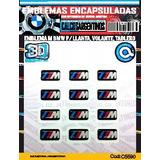 Calcomanias, Stickers,con Relieve Emblemas M Bmw Llanta...