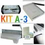 Plastificadora A-3/encadernadora/guilhotina 30 Cm+material