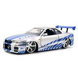 Jada Toys Nissan Skyline Gt-r Velozes E Furiosos Escala 1/24