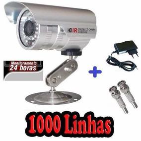 Mini Camera Color Day Night Cftv Ccd Sony 1000 Linhas