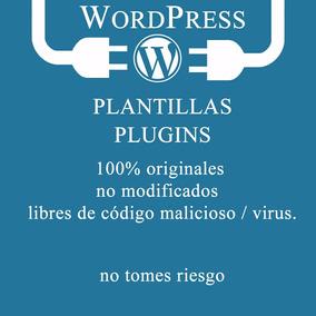 Plantillas Y Plugins Wordpress Actualizadas Y Originales