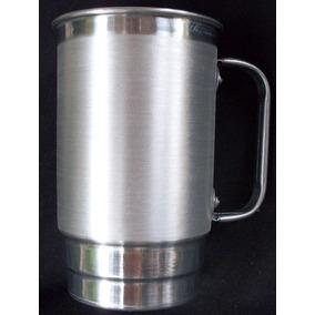 50 Un. Canecas De Aluminio 400 Ml Sem Personalizaçao