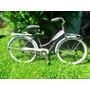 Bicicleta Antigua,playera Americana Años 50,reliquia.