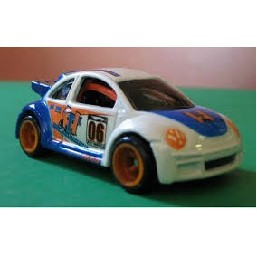 Hot Wheels T Hunt Vw New Beetle Cup 2006
