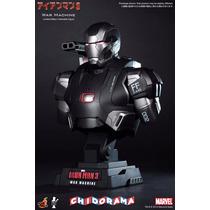 Iron Man 3 War Machine 1/4 Busto Hot Toys Nueva Y Sellada !