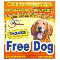 Coleira Anti Pulgas Para Cães Free Dog