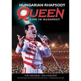 Dvd Brian May Hungarian Rhapsody: Queen Live In Budapest Imp