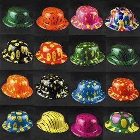 10 Sombrero Bombín Fiesta Xv Años Batucada Glow Evento