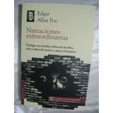 Narraciones Extraordinarias. Edgar Allan Poe. $149. Terror