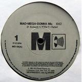 Madonna - Mad-mega-donna Mix Vinilo 12 Pulgadas