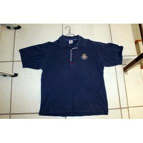 Camisa Polo Chivas Nike 1997 Original Talla M