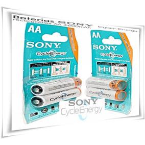 Pilas Recargables Sony Aa 1.2 V 4600 Mah Pack X 2 Unid. Cap.