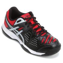 Tênis Asics Gel Dedicate 4preto/branco Tennis, Squah, Futsal