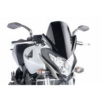 Bolha Puig Moto Honda Hornet 12-14 Fume Escura