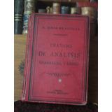 Simón De Aguilar Tratado Del Análisis Gramatical Y Lógico